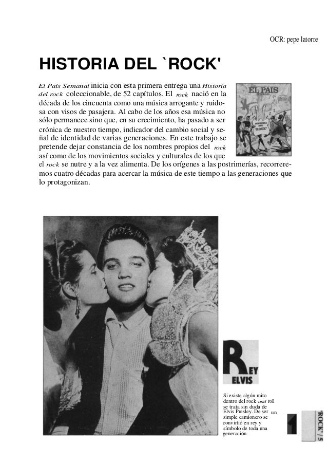 Historia Del Rock (El PaíS)