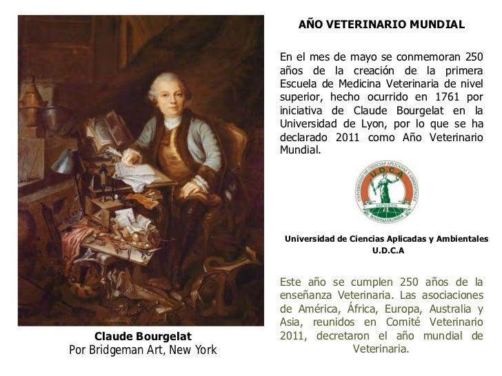 AÑO VETERINARIO MUNDIAL                              En el mes de mayo se conmemoran 250                              años...