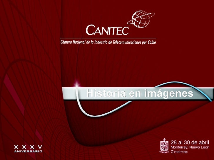 Expo Canitec, Galería historia Canitec