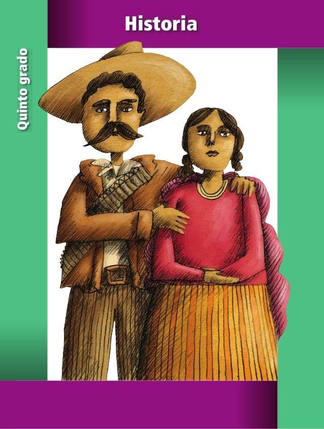 5 Historia Historia Quintogrado SEP ALUMNO HISTORIA 5.indd 1 01/04/11 15:07