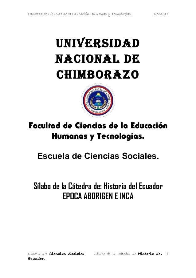 Historia aborigen inca