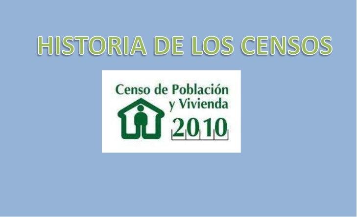 IntroducciónEn España existe una larga tradición en lo que a elaborar censos se refiere. Durante los reinos de taifas(entr...