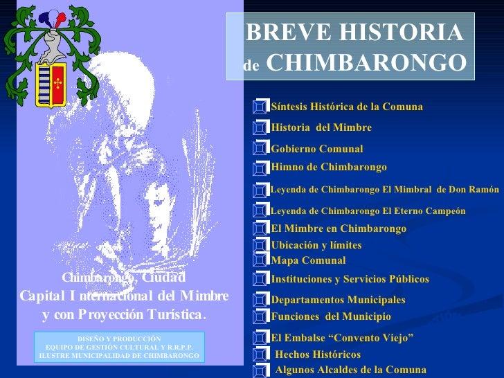 Chimbarongo , Ciudad Capital Internacional del Mimbre y con Proyección Turística. BREVE HISTORIA de  CHIMBARONGO Síntesis ...