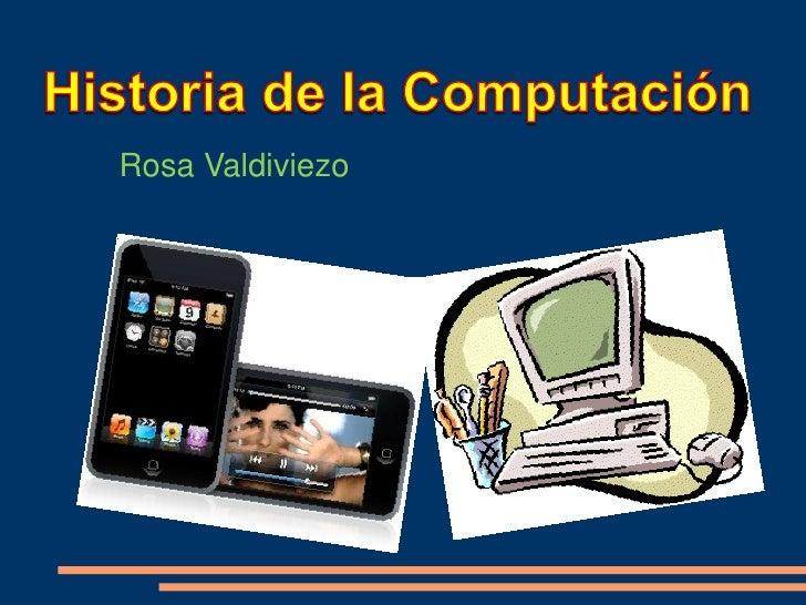 Histora de la Computacion