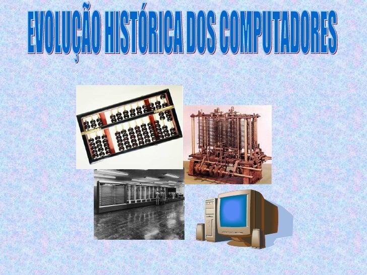 Historia Computadores