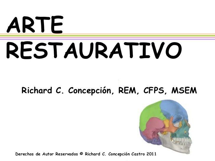 Historia de Arte Restaurativo