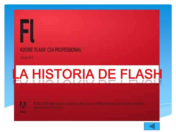 """Adobe Flash es una aplicación en formade estudio de animación que trabajasobre """"fotogramas"""", destinado a laproducción y en..."""