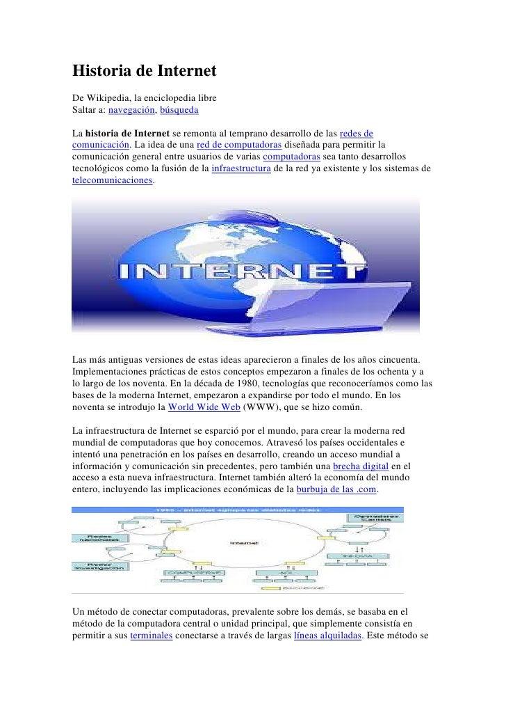 Historia de internet 2012