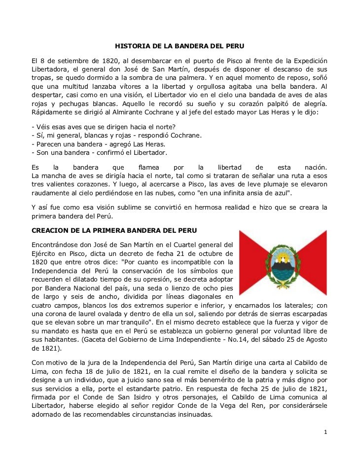 Escudo De La Bandera Del Peru