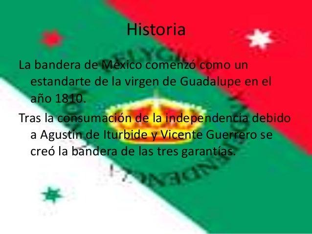 historia de la bandera de m xico