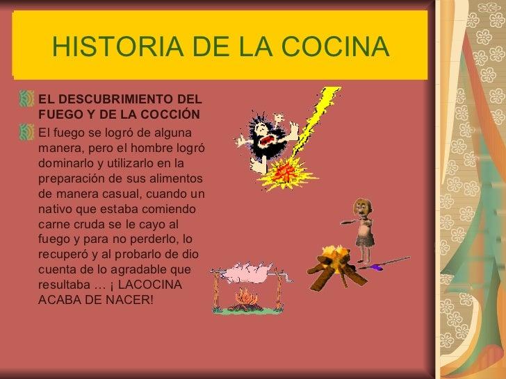 Historia de la cocina 1 for La cocina de los alimentos pdf