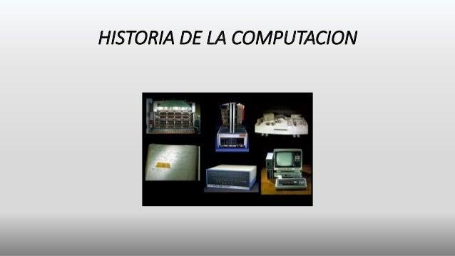 Historia de la computacion emanuel - photo#7