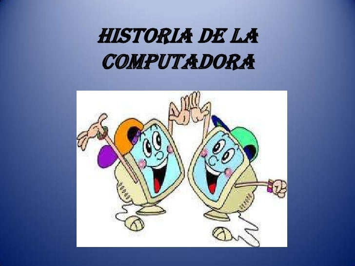 Historia de la computadora - photo#27