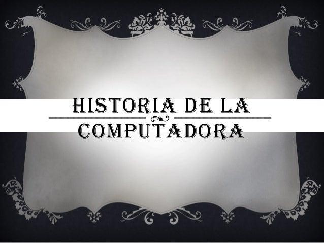 Historia de la computadora - photo#4