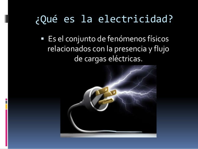 Historia de la electricidad for Electricidad
