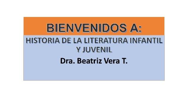 LITERATURA INFANTIL Y JUVENIL  Se denomina literatura infantil y juvenil a la literatura que considera a personajes niños ...