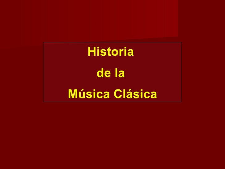 Historia  de la  Música Clásica Monteverdi  – Prólogo Toccata