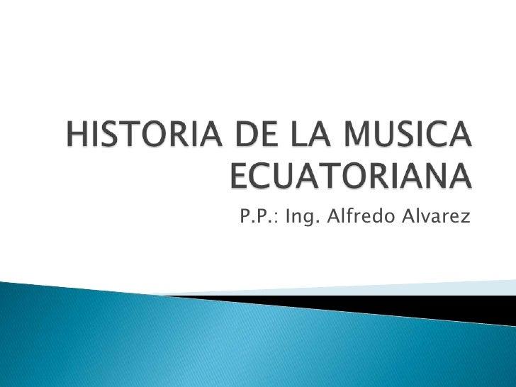historia ecuatoriana:
