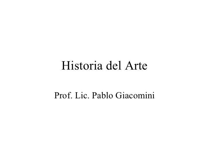 Historia del arte con imágenes