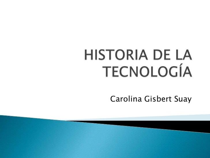 Carolina Gisbert Suay