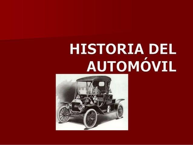 Historia del automóvil 2