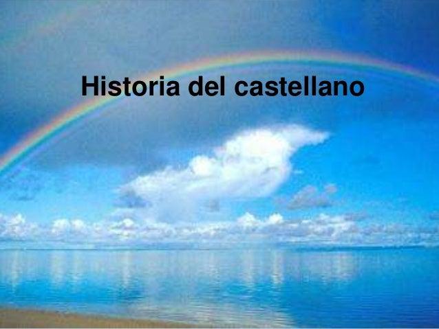 Historia del castellano