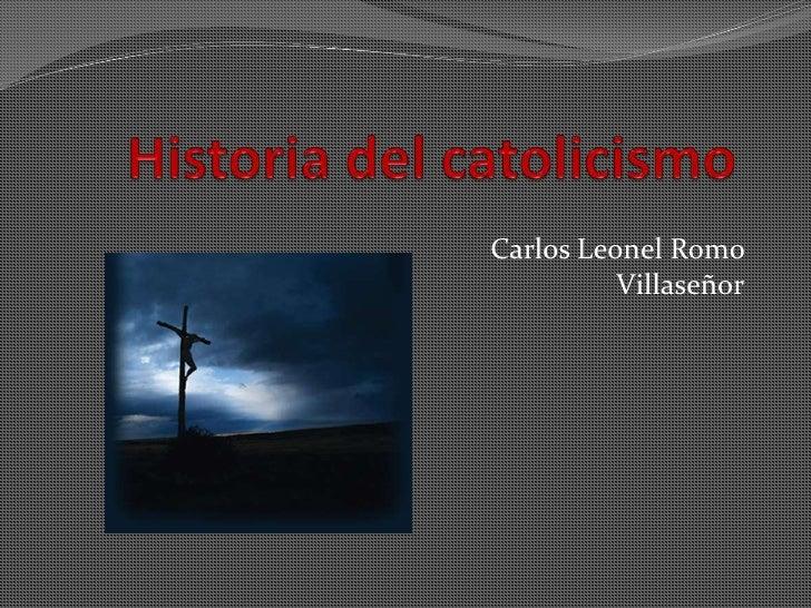 Carlos Leonel Romo          Villaseñor