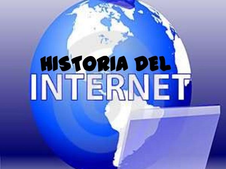 Historia del internett