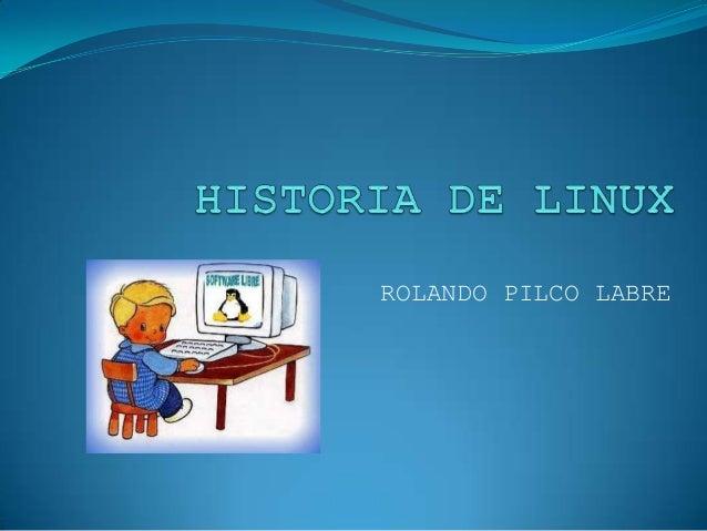 ROLANDO PILCO LABRE