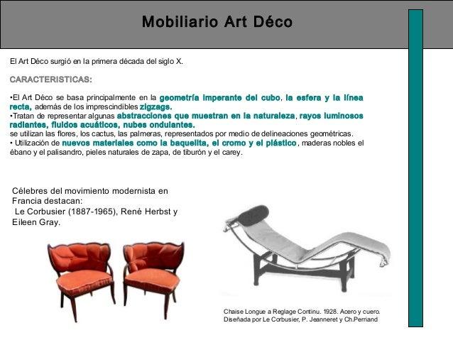 Historia del la silla - Art deco caracteristicas ...