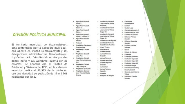 Ciudad Nezahualcoyotl Historia en Ciudad Nezahualcóyotl y