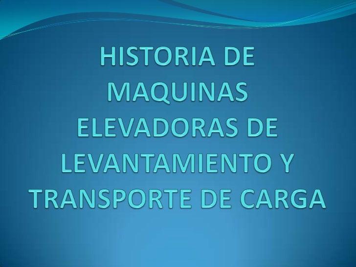 INTRODUCCION Los montacargas, o carretillas elevadoras, se utilizan para levantar y llevar objetos pesados de un lugar a ...