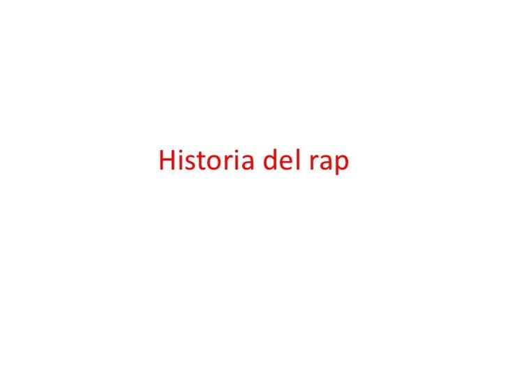 Historia del rap<br />