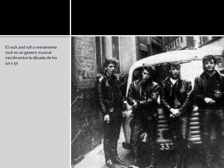 Historia del rock taringa for Espectaculo historia del rock