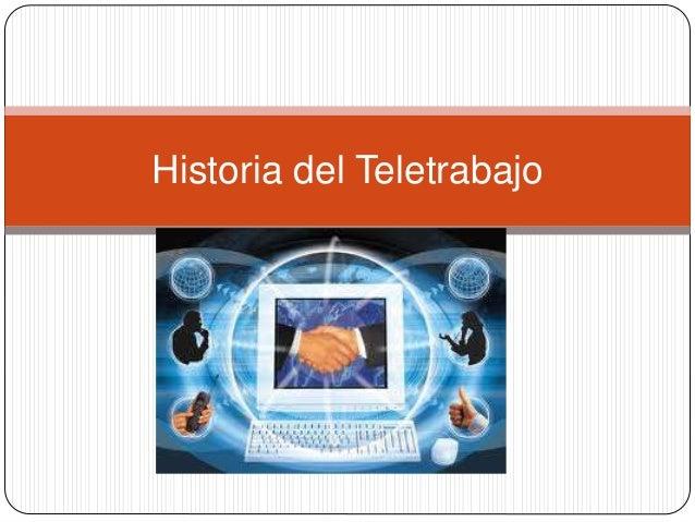 Historia del Teletrabajo