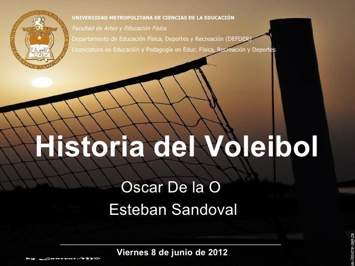 Historia del voleibol