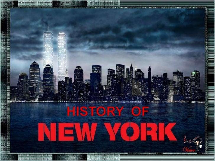 HISTORIA DE NEW YORK