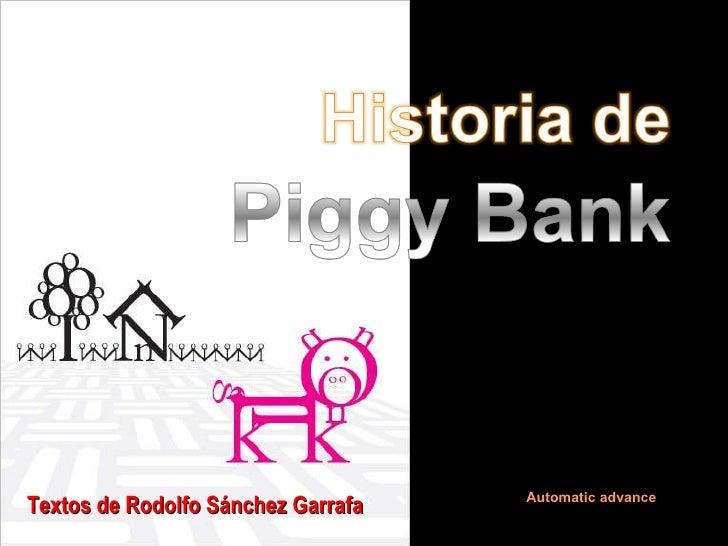 Automatic advance Textos de Rodolfo Sánchez Garrafa