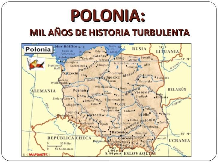 POLONIA:  MIL AÑOS DE HISTORIA TURBULENTA