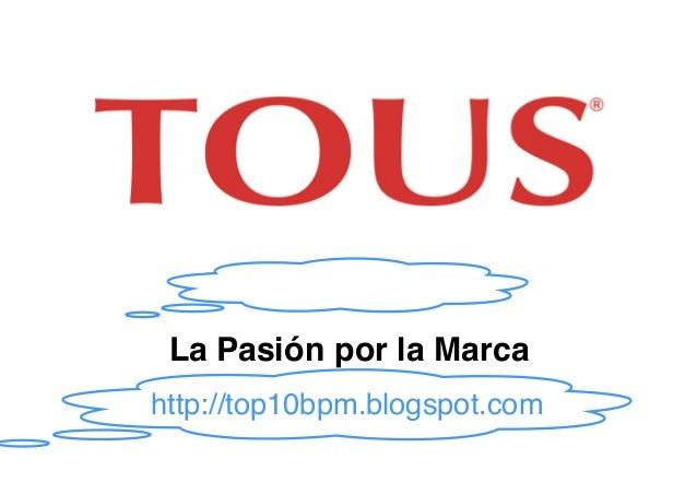Foro Empresa 2005: La Pasión por la Marca Zaragoza, 10 de noviembre de 2005http://top10bpm.blogspot.com