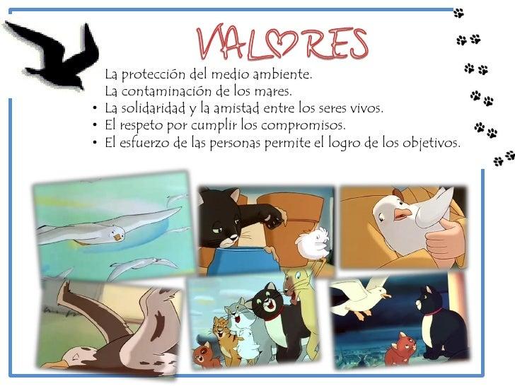 """• """"Historia de una gaviota y el gato que le enseñó a volar""""• 1998• Cine de a..."""