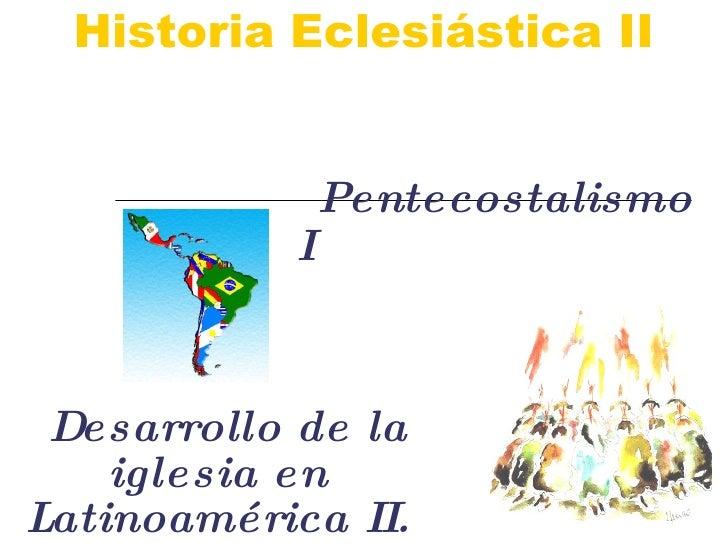 Historia eclesiastica clase 15