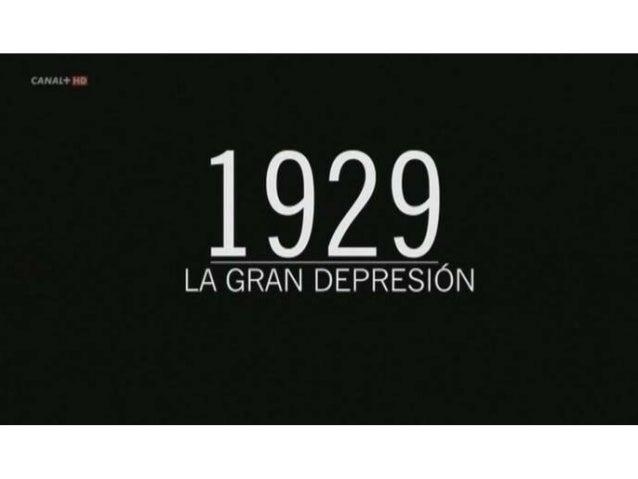 Crisis de 1929: El crack del 29