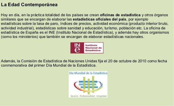 Historia de la estadistica - Oficinas de atencion a la ciudadania linea madrid ...