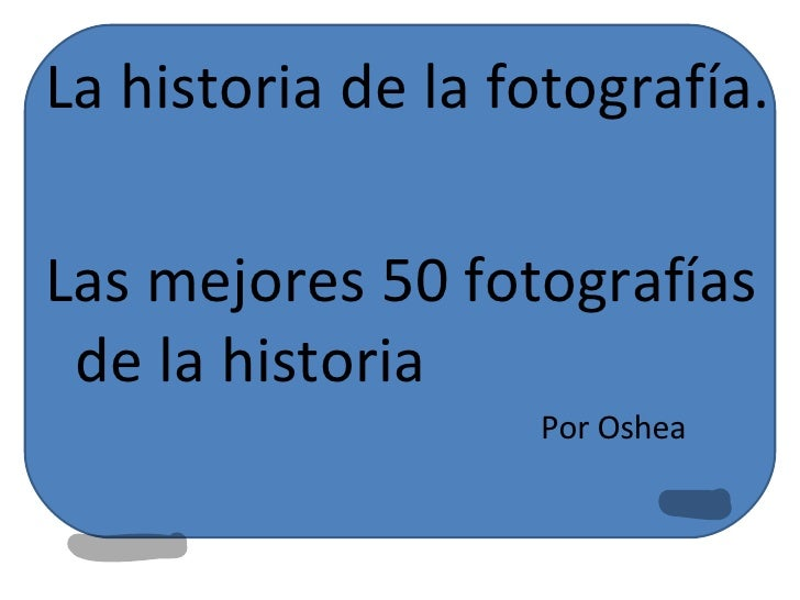 Photographs throughout History
