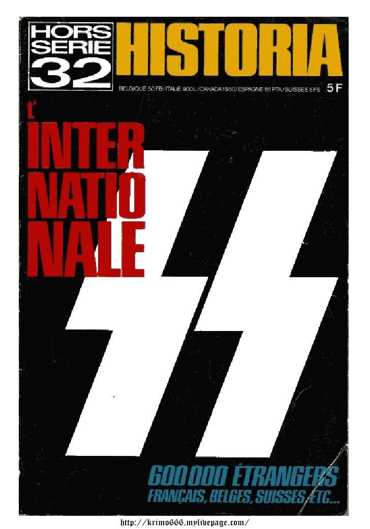 Historia Ns N32 1973   Le Croissant Et La Croix Gammee
