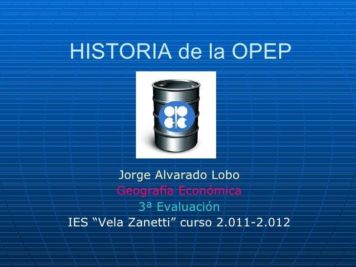 Historia OPEP