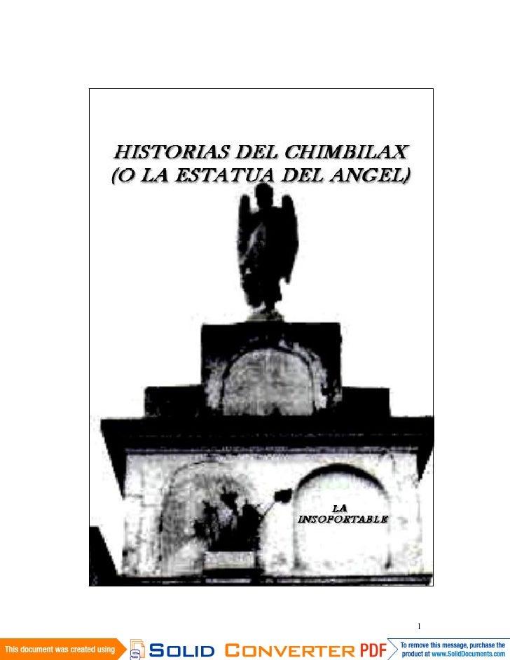 Historias Del Chimbilax (O La Estatua Del Angel)