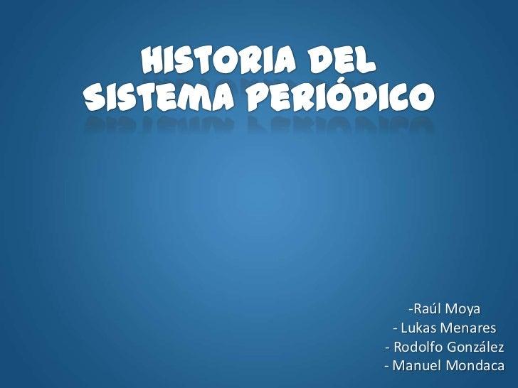 historia sistema: