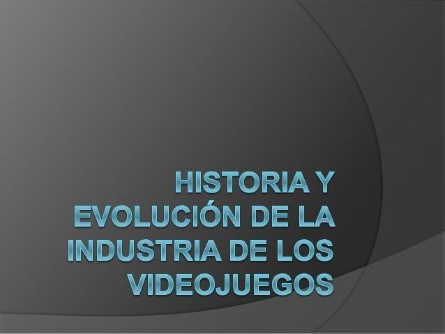 Índice  Introducción  Orígenes  Los años 70  Los años 80  Los años 90  Los años 2000  El futuro de los videojuegos ...